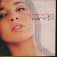 CHIMENE BADI CD SINGLE EU SI J'AVAIS SU T'AIMER