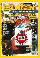 GUITAR Noten Songbook mit DVD zum Mitspielen school of metal Nr3 NEU OVP Gitarre