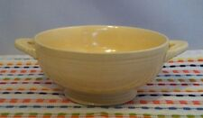 Vintage Fiesta Ivory Cream Soup Bowl HLC Fiestaware Original Ivory Footed Bowl