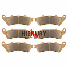 Front Rear Brake Pads for HONDA VFR 800 CB1100 CBR1100 ST1100 1300 GL1800