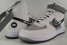 Nike Lunar Force 1 HI WOW QS White Metallic Silver Size 13