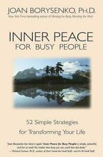 Inner Peace for Busy People Borysenko, Joan Z. Paperback