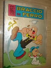 FUMETTO SUPER BRACCIO DI FERRO N° 78 LUGLIO 1979 LIRE 500 EDIZIONE METRO