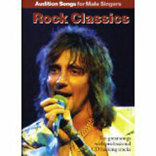 Audition Songs for Male Singers Rock Classics Anthems Sheet Music Book CD B41