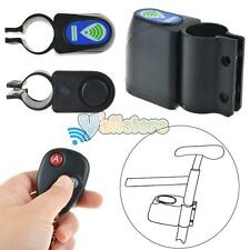 Bicycle Cycling Security Lock Vibration Alarm Anti-theft Wireless Remote Co