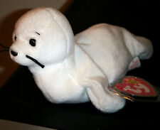 Ty Beanie Baby ~ SEAMORE the White Seal ~ MINT with MINT TAGS ~ RETIRED