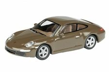 PORSCHE 911 COUPE brown 1:87 SCHUCO 25813