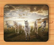 HORSES HERD IN THE WILD WEST MOUSE PAD -pil7Z