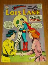 LOIS LANE #52 VG (4.0) DC COMICS OCTOBER 1964 SUPERMANS GIRLFRIEND+