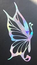 Butterfly Swirl Rainbow Holographic Car Vinyl Decal Sticker Window Laptop 10-87