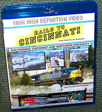 "20123 BLU-RAY HD TRAIN VIDEO VIDEO ""RAILS TO CINCINNATI"""