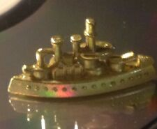 CRUISE SHIP Monopoly Gold Colored  Token replacement Piece Deluxe Ed. F L