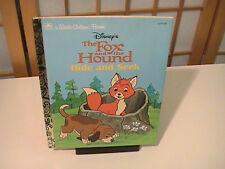 1994 The Fox and the Hound : Hide and Seek a Little Golden Book Very Fine