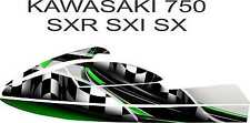 kawasaki 750 sxr sxi sx jet ski wrap graphics pwc stand up jetski decal kit 17