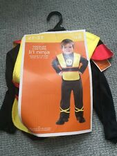 New Toddler Li'l Ninja Halloween Costume 2t-3t