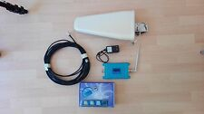 KIT AMPLIFICATORE GSM 900Mhz RIPETITORE SEGNALE LCD ANTENNA CELLULARE