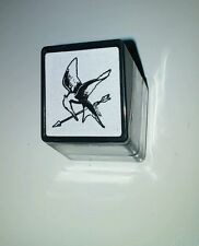 Hunger Games Square Stamp Pre Inked Mockingjay Catching Fire Party Favor NEW