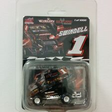 2014 SAMMY SWINDELL BIG GAME TREESTANDS 1:64 WORLD OF OUTLAWS SPRINT CAR R&R GMP