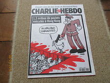 JOURNAL BD CHARLIE HEBDO 289 1,3 millions poulets executes hong kong charb 1997