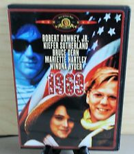 1969 (DVD, 1988) Robert Downey Jr Kiether Sutherland