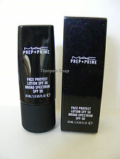 MAC PREP + PRIME FACE PROTECT LOTION SPF 50 100% Authentic