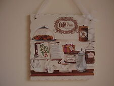 Shabby Chic Vintage Hand Made Picture Plaques Lovely Gift Wrapped !