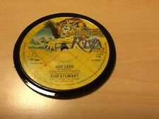 Vinyl Coaster Rod Stewart Original 45 Record Retro Birthday Hot Legs 1978