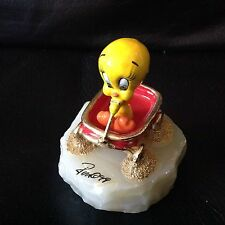 Disney RON LEE 1999 TWEETY  Small Wagon Rides LE # 602/950