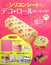 New! Let's Make Deco Roll Cake w/Silicon Sheet /Japanese Sweets Recipe Book