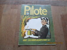 JOURNAL BD PILOTE HEBDOMADAIRE 716 bilal giraud greg tabary mezieres 1973