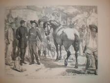L'achat de chevaux en bretagne pour armée française 1871 imprimer