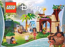 Lego Disney 41149 Vaianas Abenteuerinsel Haus Fische Schweinchen Wasserfall NEU