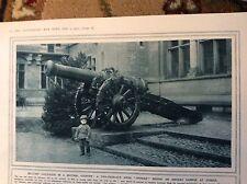 75-6 ephemera picture ww1 1917 swiss boy soldier zurich old cannon