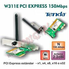 SCHEDA RETE TENDA W311E WIFI N 150M 2.4 GHz WIRELESS PCI EXPRESS INTERNA PC
