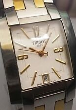TISSOT 1853 T-TREND DATE 2-TONE QUARTZ MEN'S WATCH, L860/960