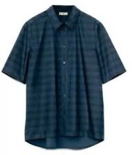 MARNI AT H&M BLUE NAVY SHIRT  Men Size Medium Brand New Rare SOLD OUT
