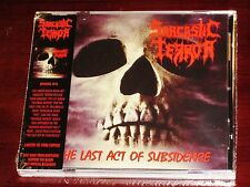 Sarcastic Terror: The Last Act Of Subsidence - Limited Edition CD 2016 Dark NEW