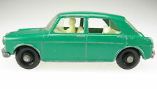 Matchbox no 64-mg 1100-green with driver and dog-Lesney regular Wheels