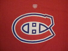 NHL Montreal Canadiens Canada National Hockey League Fan Red T Shirt M