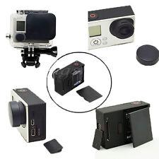 Lens Cap + Replacement Battery Door+ Side Door Cover For GoPro Hero 3+ 4 Camera