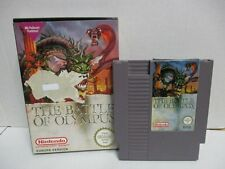 Nintendo NES juego The Battle of Olympus OVP