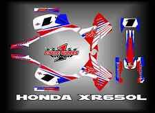 HONDA XR650L XL 650 XR 650L  SEMI CUSTOM GRAPHICS KIT POWER WING