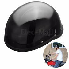 Motorcycle Safety Half Helmet Open Face Chopper Skull Cap Biker Pilot Cruiser