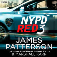 NYPD Red 3 by James Patterson (CD-Audio, 2015) NEW AND SEALED