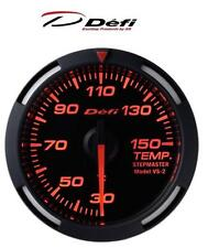 Defi Racer 52mm Car Water Temperature Gauge - Red - JDM Style Stepper Motor