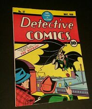 Batman Detective Comics # 27 1939 Oversized Golden Age Replica  ☆☆☆☆