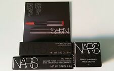 NIB Nars 4 Deluxe Samples and Sharpener Set