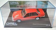 OPEL COMMODORE C 1978-1982 - VOITURE MINIATURE COLLECTION - IXO 1/43 CAR AUTO