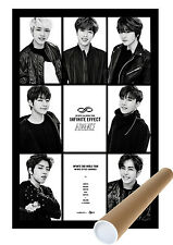 INFINITE EFFECT ADVANCE DVD POSTER  ONLY - UNFOLDED POSTER KPOP