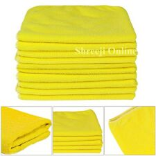 12 ULTRA SOFT KIRKLAND SIGNATURE MICRO-FIBRE PLUSH CAR CLOTHS MICROFIBER TOWELS